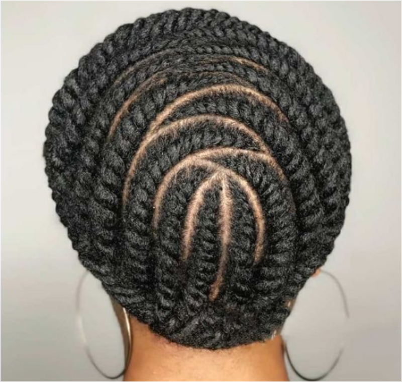 Protective Styles - Passions & Fusions - Flat 2-Strand Twists