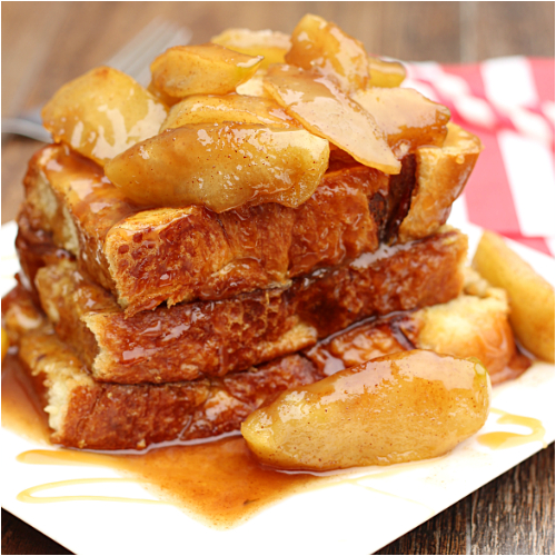 Pain Perdu - With Caramelized Apples